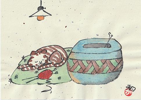 中島陶芸イラスト16